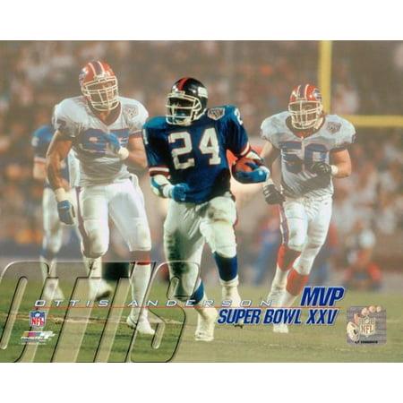 Ottis Anderson   Super Bowl Xxv Mvp Photo Print