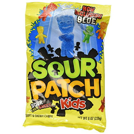 Sour Patch Soft and Chewy Candy, 8-Ounce Packet