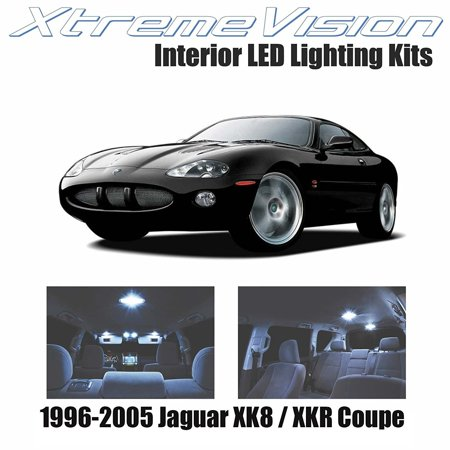 Jaguar Xk8 Coupe - XtremeVision LED for Jaguar XK8 / XKR Coupe 1996-2005 (14 Pieces) Cool White Premium Interior LED Kit Package + Installation Tool