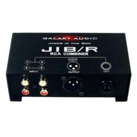 Galaxy Audio JIBR Galaxyaudio Rca Combiner (Audio Visual)