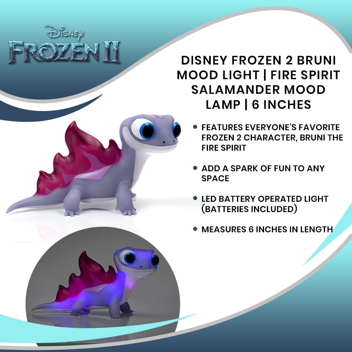 Frozen Bruni the Fire Spirit Salamander Hot /& Cold Pillow Case Multi-Color