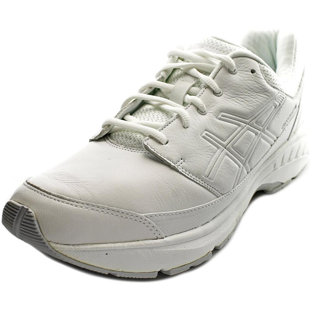 Asics GEL-Foundation Workplace Men  Round Toe Leather Whi...