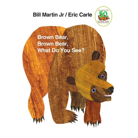 Brown Bear Brown Bear What Do You See (Board Book) - Brown Bear Brown Bear Book