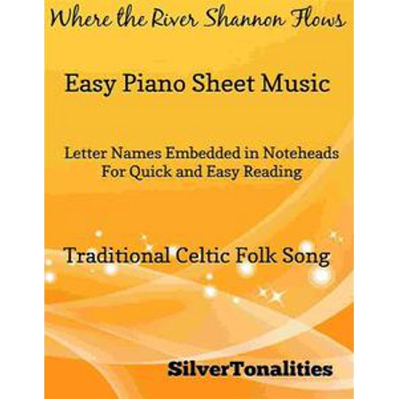 Where the River Shannon Flows Easy Piano Sheet Music - eBook (This Is Halloween Sheet Music Piano)