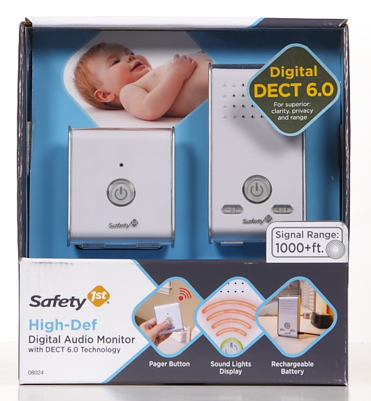 Safety 1st High Def Digital Audio Monitor, White
