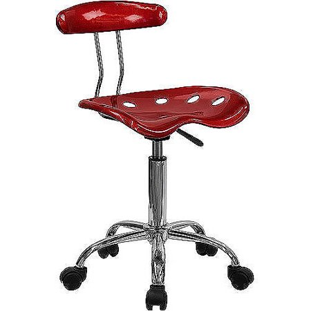 Computer Task Chair With Tractor Seat  Multiple Colors