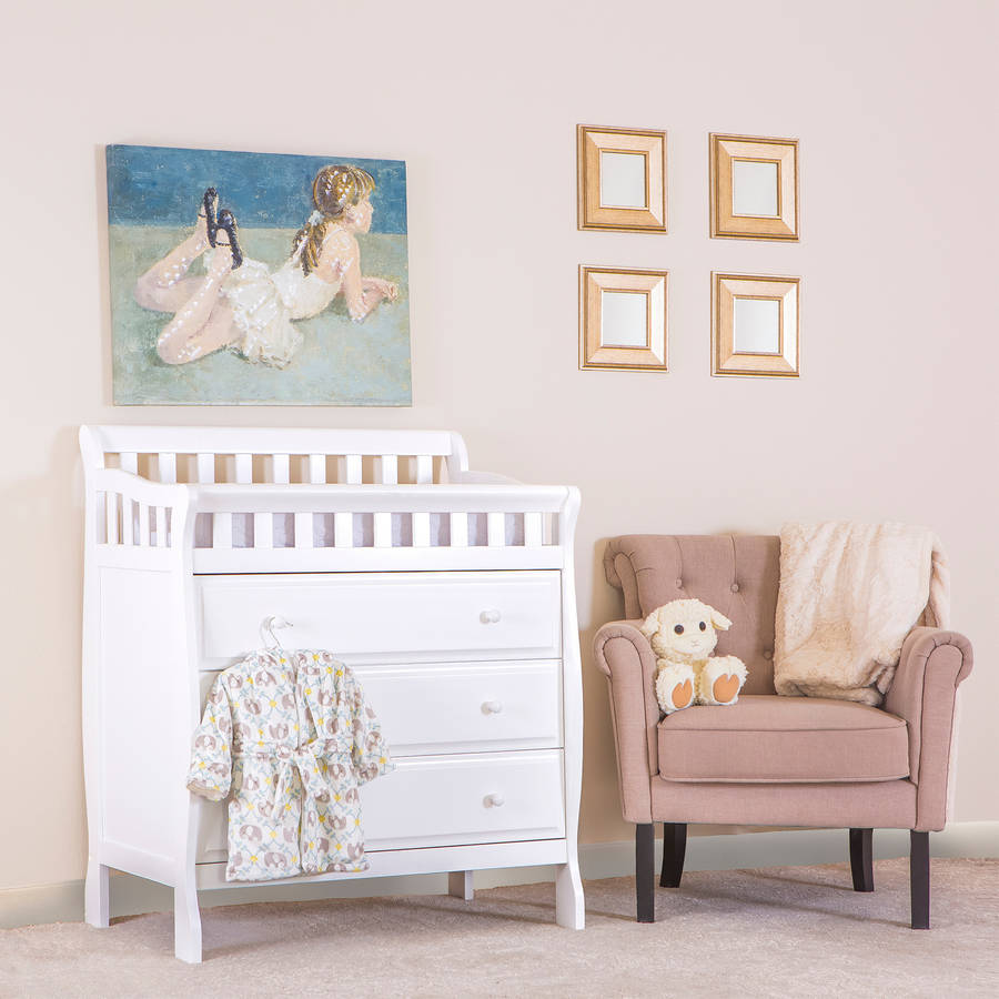 Dream On Me Marcus Changing Table and Dresser, Choose Your Finish
