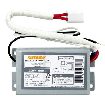 Sunlite 40100-SU SB122C120 1 Lamp FC8T9 Fluorescent Circline Ballast, 120-volt - image 1 of 1