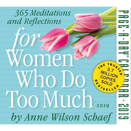 For Women Who Do Too Much Page-A-Day Calendar 2019 - Women 2008 Calendar