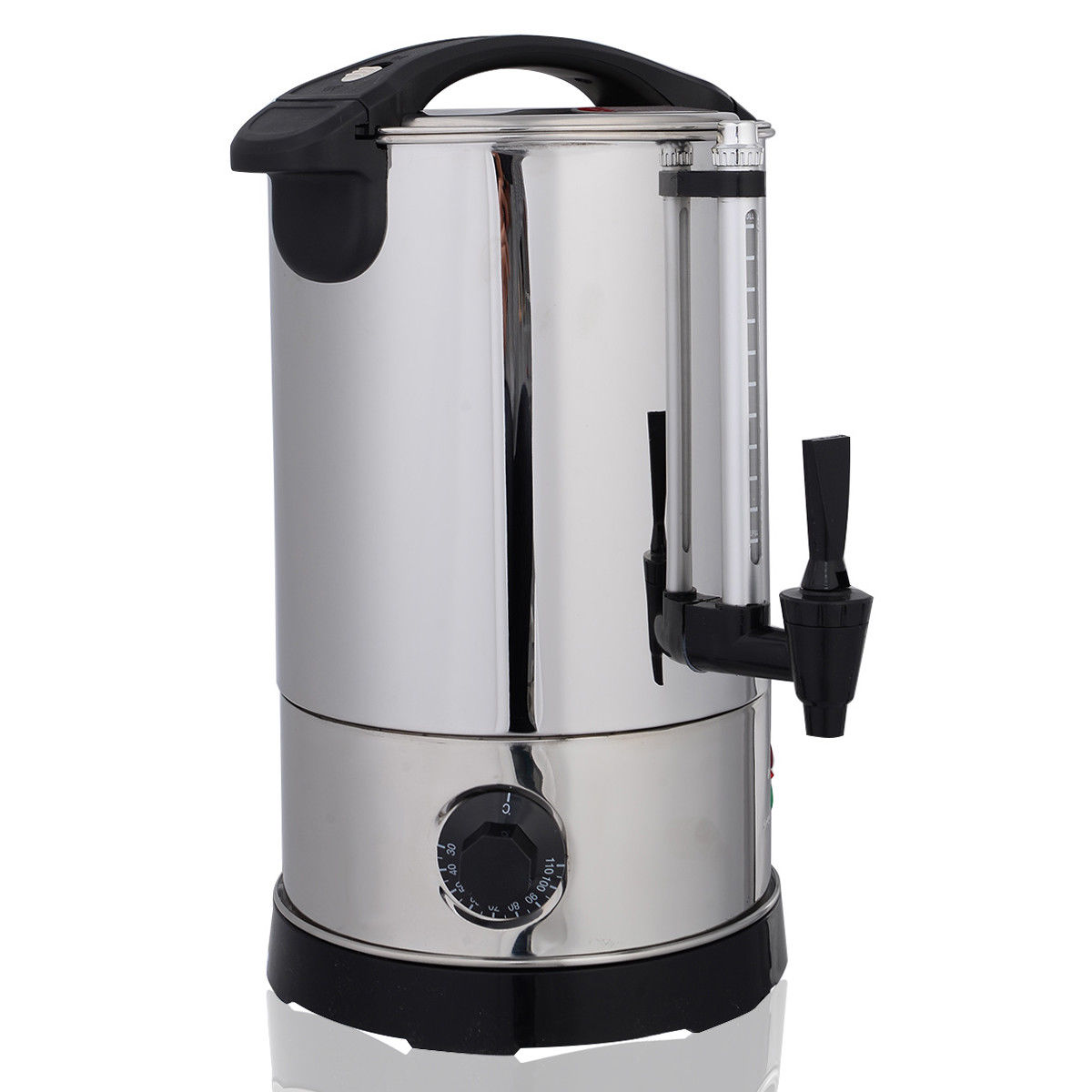 Costway Stainless Steel 6 Quart Electric Water Boiler Warmer Hot ...