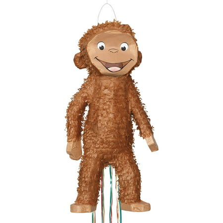 Curious George Pinata, Pull String