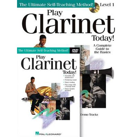 Play Clarinet Today! Beginner's Pack : Book/CD/DVD Pack