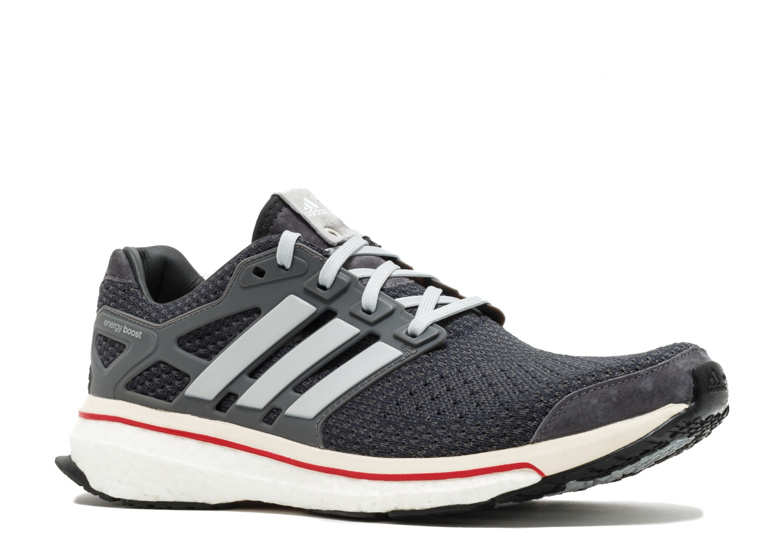 "Adidas Mens Energy Boost ""Run Thru Time"" Granite Clear S81135 by Adidas"