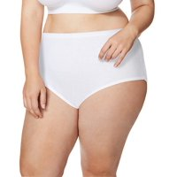 Just My Size by Hanes Cool Comfort Cotton Women's Briefs, 5 Pack