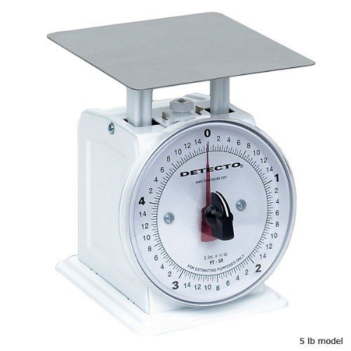 Detecto Small Mechanical Dial Scale, Solid and sturdy construction. By KegWorks