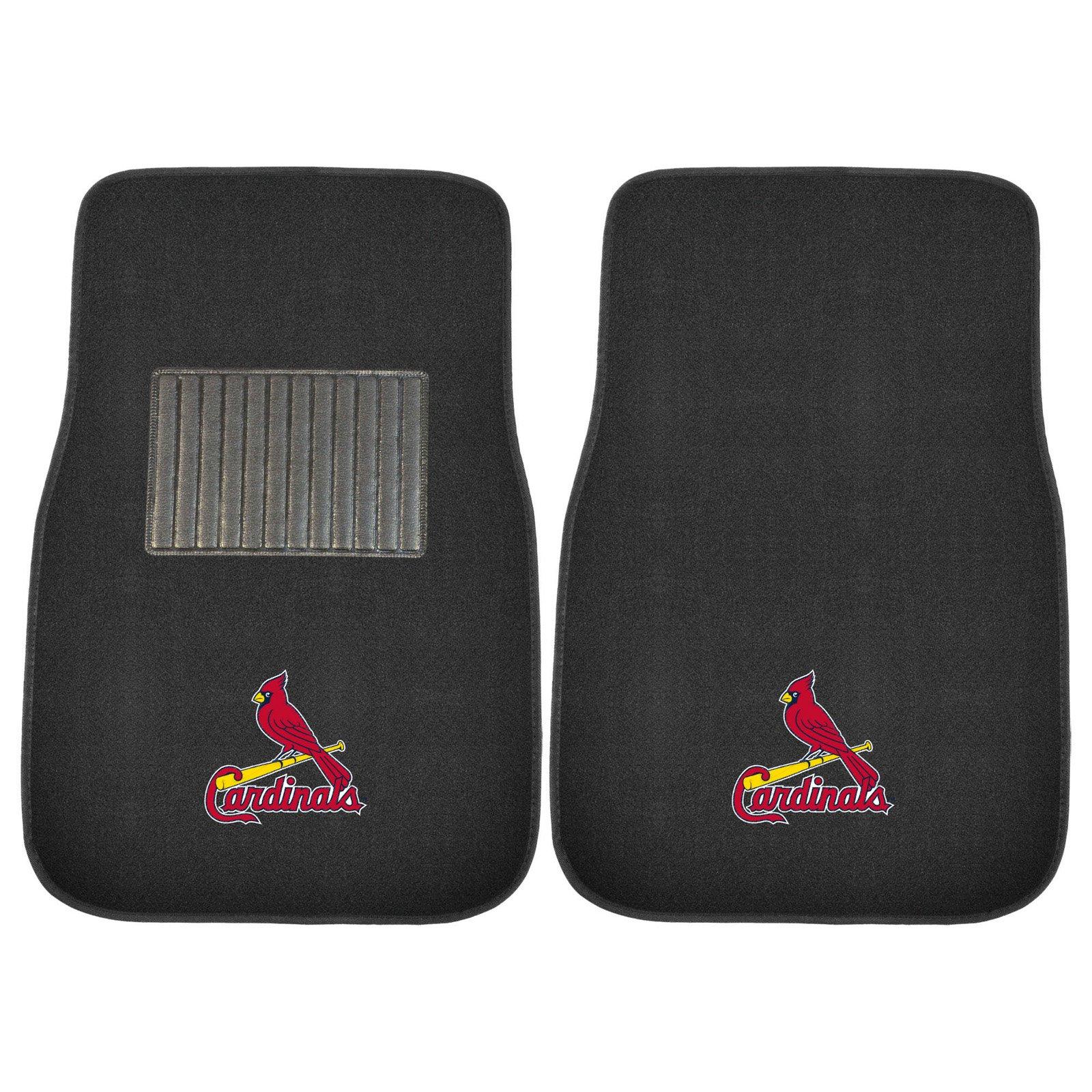 MLB St. Louis Cardinals Embroidered Car Mats