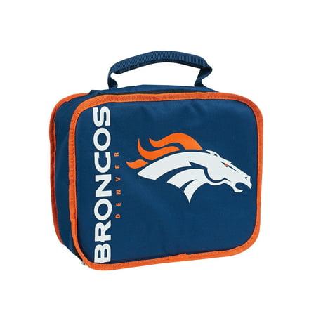 """NFL Denver Broncos """"Sacked"""" 10.5""""L x 8.5""""H x 4""""W Lunch (Stores In Denver Co)"""