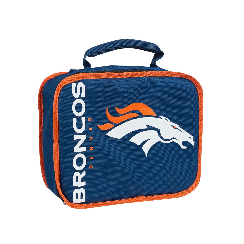 """NFL Denver Broncos """"Sacked"""" 10.5""""L x 8.5""""H x 4""""W Lunch Cooler"""
