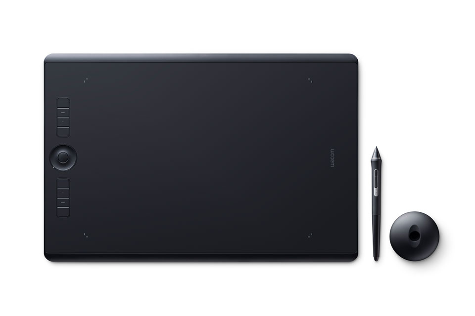Wacom Intuos PRO Pen & Touch Tablet, Various Sizes by Wacom