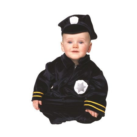 Baby Police Costume (Little Police Bunting Newborn)