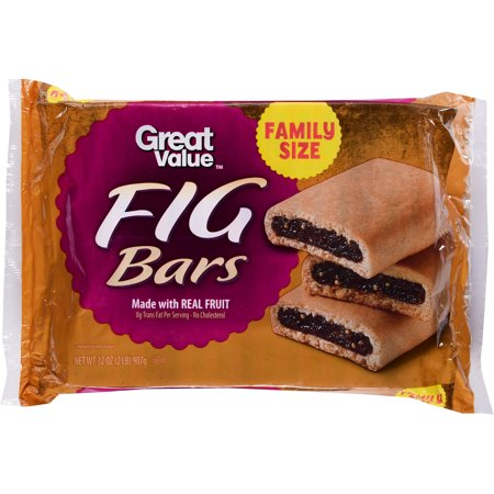 Great Value Fig Bars Cookies  32 Oz