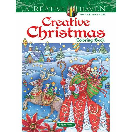 Creative Haven Creative Christmas Coloring Book - Christmas Coloring Books