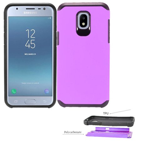 detailed look 0c373 b73a7 Phone Case for Samsung Galaxy J7 (2018) / Galaxy J7 V 2nd-Gen. (Verizon) /  Galaxy J7 (2018) / J7 Refine / J7 Star / J737 Rugged Dual layered Hybrid ...
