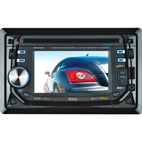 "BOSS BV9155B 4.5"" TOUCH SCREEN CD/MP3/DVD Car Player w/USB Receiver+Bluetooth"