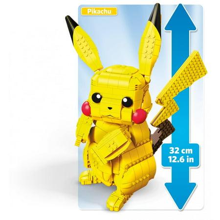 Mega Construx Pokemon Jumbo Pikachu Buildable 12-Inch Figure - Pokemon Toms