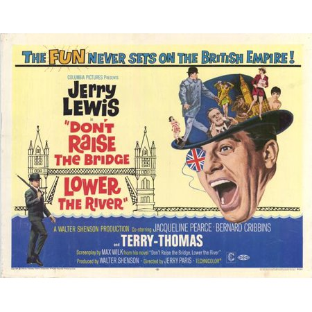 Don't Raise the Bridge, Lower the River - movie POSTER (Style A) (11
