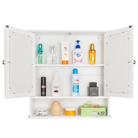 Wall Mounted Storage Cabinet, Wooden Bathroom Cabinet ...