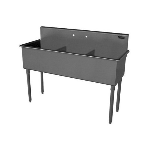 Bundle-70 Griffin 42'' x 57'' Triple Bowl Scullery Sink (Set of 2)