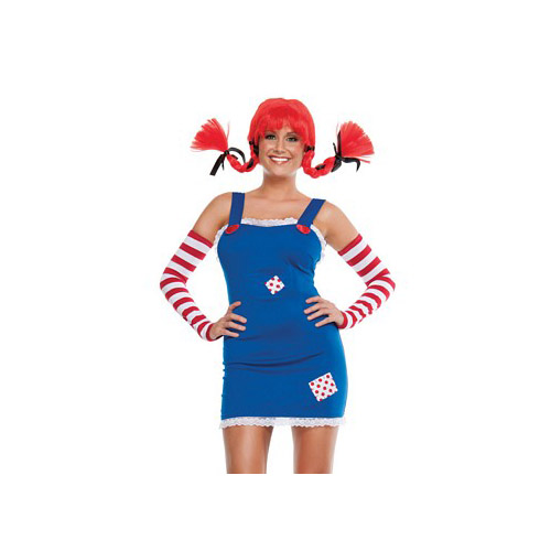 Starline Pippy Sexy Stocking Costume S3115 Blue