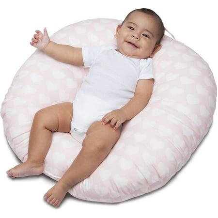 Boppy Newborn Lounger Pink Hearts Walmart Com