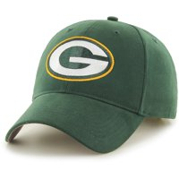 Men's Fan Favorite Green Green Bay Packers Mass Basic Adjustable Hat - OSFA