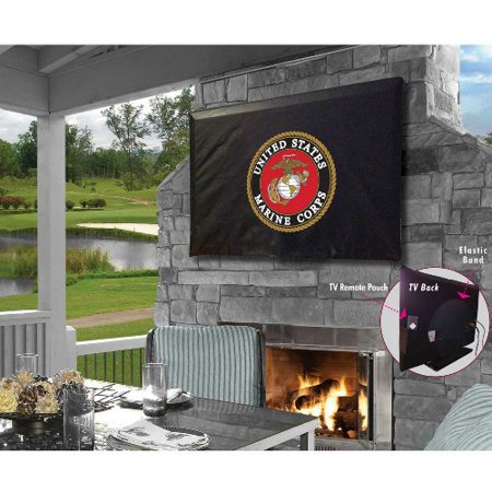 Holland Bar Stool 55 x 31 Inches US Marines TV Cover](Standard Bar And Grill Halloween)