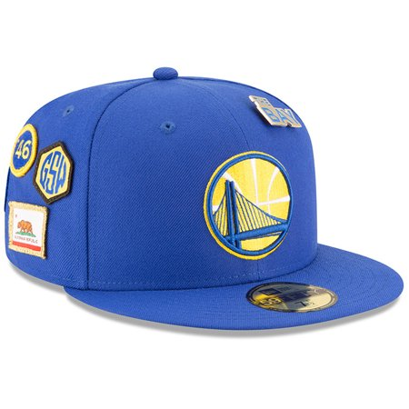 Golden State Warriors New Era 2018 Draft 59FIFTY Fitted Hat - Royal