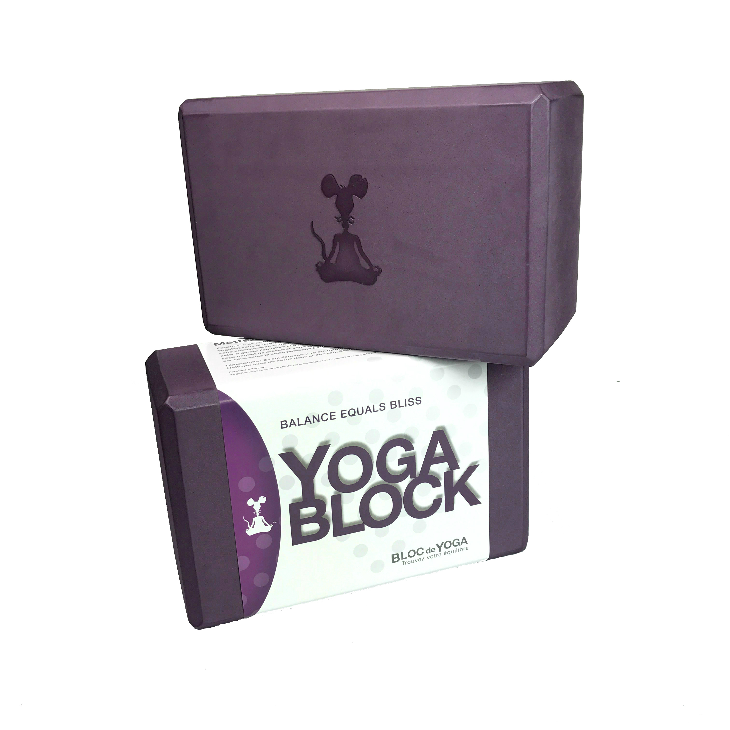 YogaRat Two Yoga Blocks Set