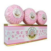 Roger & Gallet Rose Savons Coffret 3 x 3.5 oz 100 g Perfumed Soaps