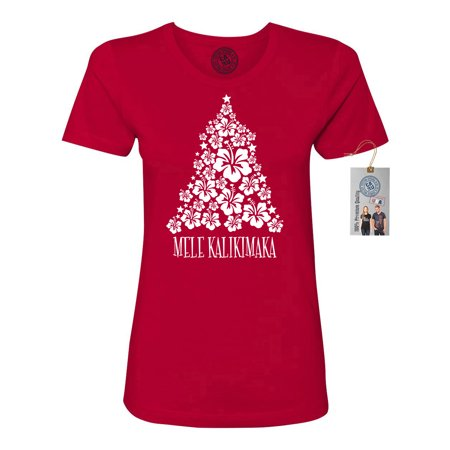 Christmas Vacation Mele Kalikimaka Women Short Sleeve T-Shirt