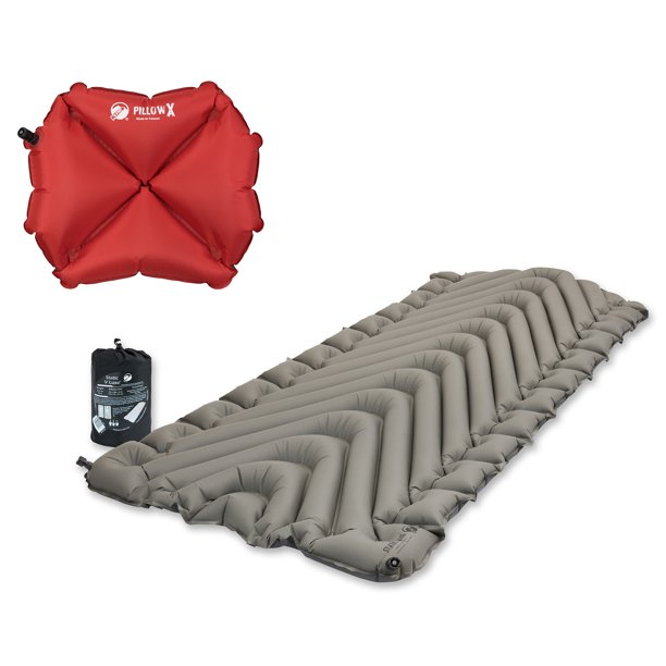Klymit Static V Luxe Inflatable Sleeping Pad Gray