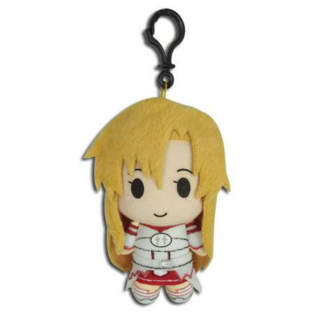 Key Chain   Sword Art Online   Asuna 5 Plush New Licensed Ge37404