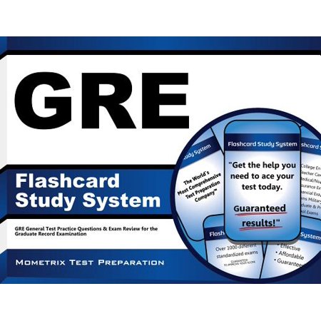 Gre Flashcard Study System: Gre General Test Practice Questions & Exam Review for the Graduate Record Examination
