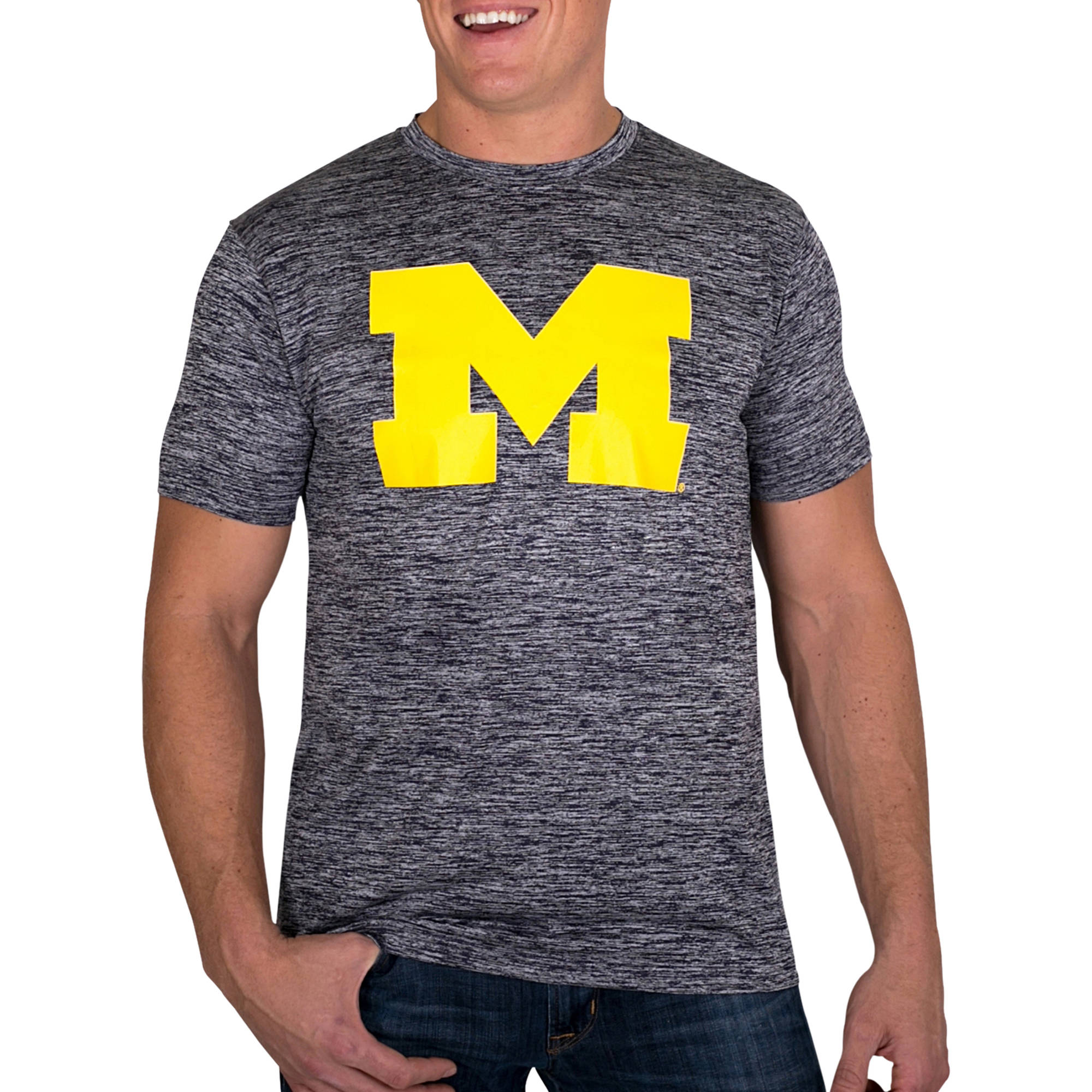 Russell NCAA Michigan Wolverines Big Men's Impact T-Shirt