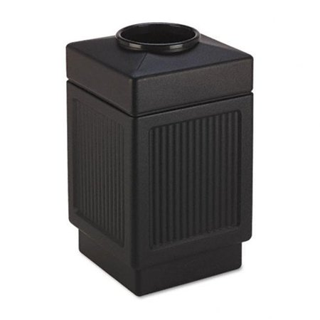 Canmeleon Collection 38 Gallon Top Open Receptacle in