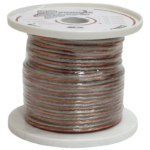Pyramid RSW1250 12-Gauge 50-Foot Spool of High-Quality Speaker Zip Wire - Colors May Vary