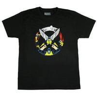Marvel Men's Original X-Men Characters X Logo T-Shirt