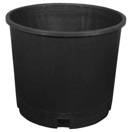Gro Pro Premium Nursery Pot 5 Gallon Squat 5 Gallon Oak Barrels