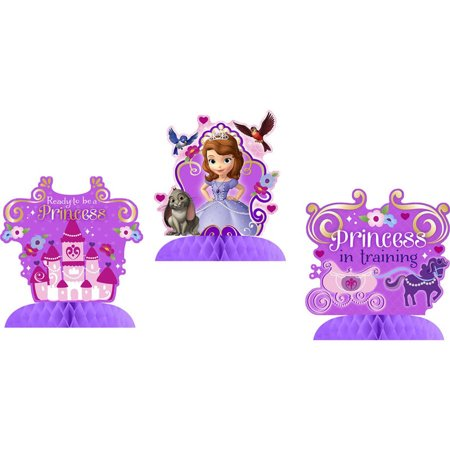 Disney Junior Sofia the First Tabletop Decorations (Sofia The First Decorations)