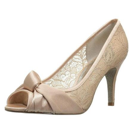 653d5c8f384 Adrianna Papell Womens Francesca Fabric Peep Toe Classic | Walmart ...